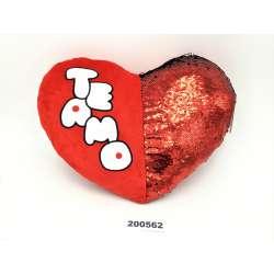 Corazón con Lentejuelas Te Amo 30 cm