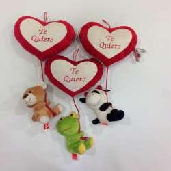 Animales con Corazón con Cuerda