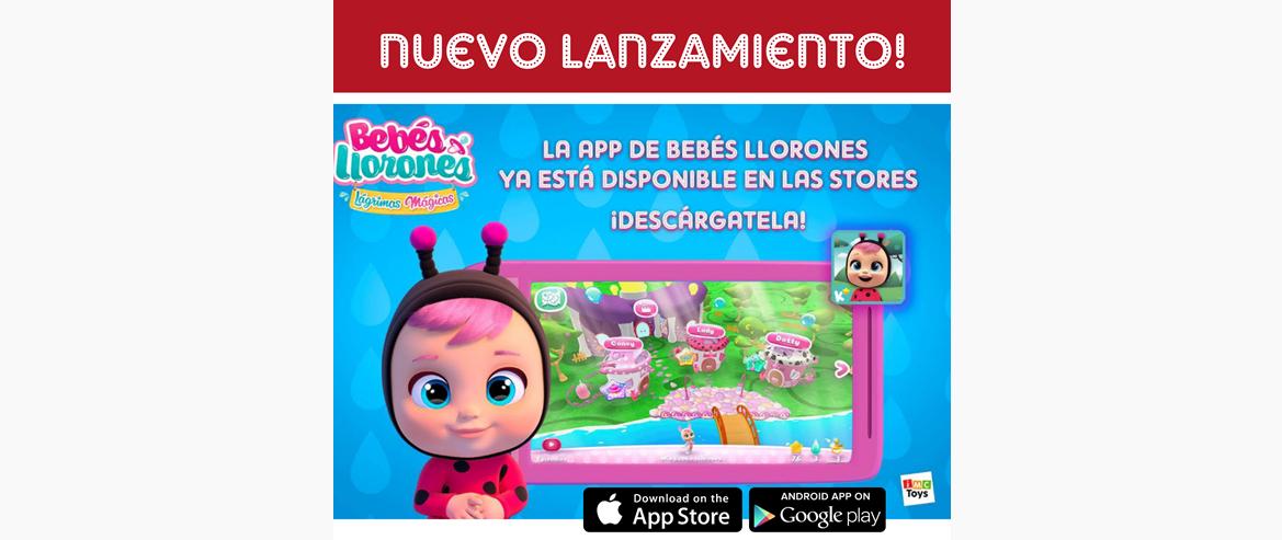 App Bebés Llorones